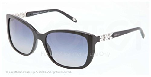 Tiffany & Co. Women's 4090b Tortoise / Blue Frame/black Plastic - Co Tiffany And Aviators