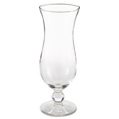 LIB3616 - Hurricane Footed Glasses, Cocktail, 14.5 Oz, 8 1/4quot; Tall