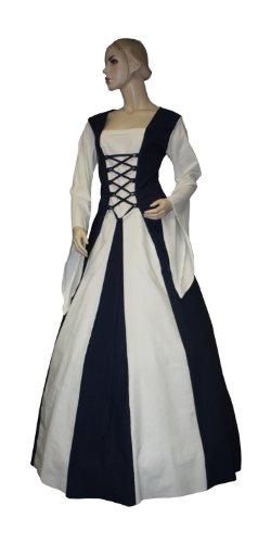Gr Irma K47 Gewand Mittelalterkleid Gothic Mittelalter Kleid 40 LARP w011Sq4