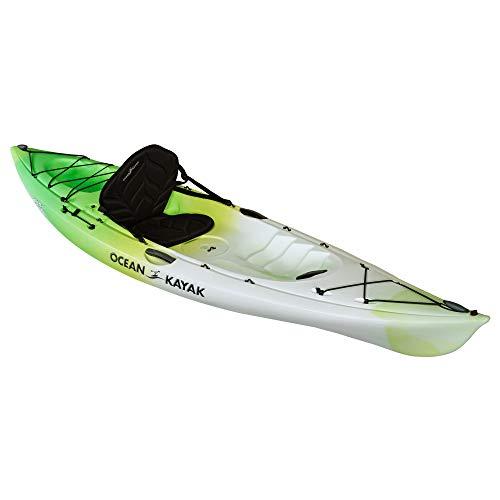 Ocean Kayak Venus 10 One-Person Women's Sit-On-Top Kayak, Envy, 9 Feet 10 Inches