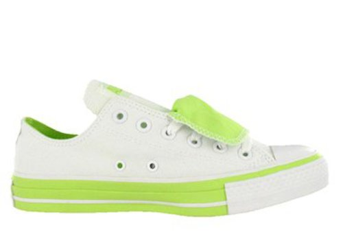 Converse White Double Chaussures De Tongue Chuck Basket Taylor Cwzn6ZqC