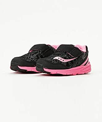 Saucony Running Shoes for Girls, Size 9 US, Black & Pink - ST56909