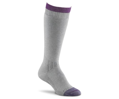 (Fox River Women's Her Thermal Boot Knee-High Socks, Grey, Large)