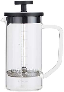Cafetera de borosilicato de Cafetera French Press en acero ...