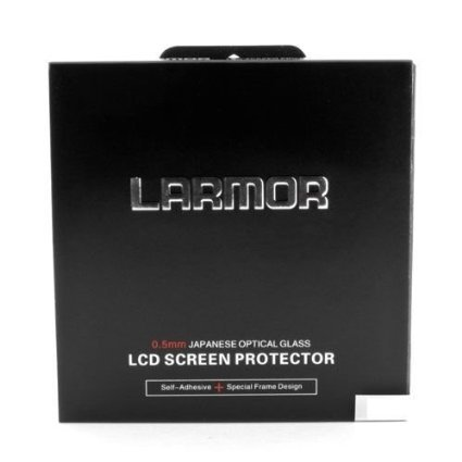 LARMOR GGS Self-Adhesive Optical Glass LCD Screen Protector for Canon 5DIII 5D3 5D Mark III 5Ds 5DSR by LARMOR GGS