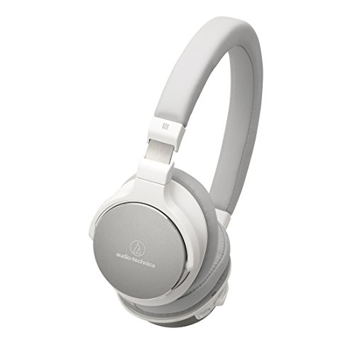 Audio-Technica ATH-SR5BTWH Bluetooth Wireless On-Ear High-Re