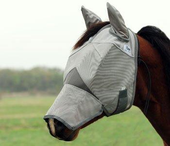 Crusader© Fly Mask Cashel© UV-Schutz mit Ohren und Nase