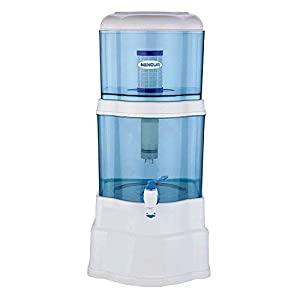 NEXQUA Dew Non-Electric Ultra Filtration (UF) Based Gravity Water Filter and Purifier With 14 Litre (7+7 Litre Combined…