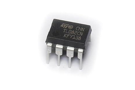 TL082 OP-AMP jfet entradas, bajo entrada corriente de ...