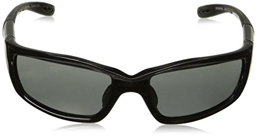 Crossfire 241 Infinity Crystal Black Frame Safety Sunglasses with Smoke Lenses by Crossfire (Image #1)