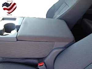 Car Console Covers Plus Made in USA Neoprene Center Armrest Console Cover fits Ford F150 F250 2010-2020 Your Console Should Match Console Shown Black