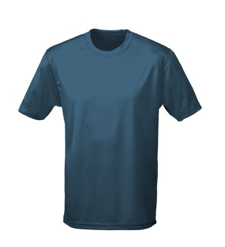 Just Cool - Performance T-Shirt, atmungsaktiv S,Airforceblau