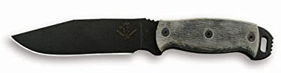 Ontario 9416BM Ranger Ready Detachment RD6 Knife (Black) by Sportsman Supply Inc.