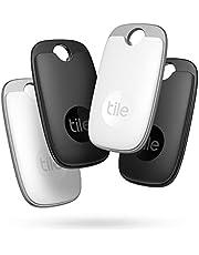 Tile Pro (2022) Bluetooth Item Finder, 2 Stuks, Bereik 120m, Tot 2 Jaar Batterijduur, Incl. Zoekopdracht Met Behulp Van De Gemeenschap, iOS En Android App, Werkt Met Google Home, Wit/Zwart