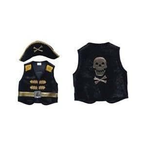 Grandes imitaciones -  disfraz de pirata para niño (Large) (de 6/8 años) - altura 122-140, cintura 61-69
