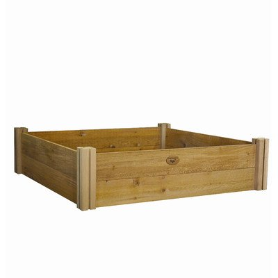 Gronomics MRGB 48-95-13 Modular Raised Garden Bed, 48 by 95 by 13-Inch