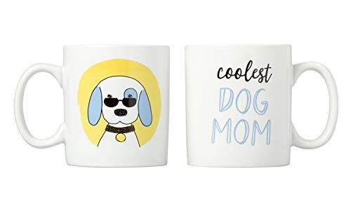 Kate & Milo Coolest Dog Mom Mug Set, The for The Dog Lover, 95217 ()