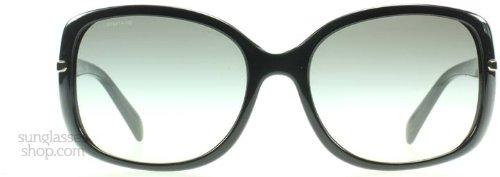 Prada Gray Lens (Prada Sunglasses - PR08OS / Frame: Black Lens: Gray Gradient)