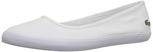 Lacoste Women's Marthe BL 1, White, 7.5 M US (Shoes Dress Lacoste)