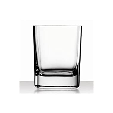 Luigi Bormioli Strauss 11-3/4-Ounce Double Old Fashion Glass, Set of 6