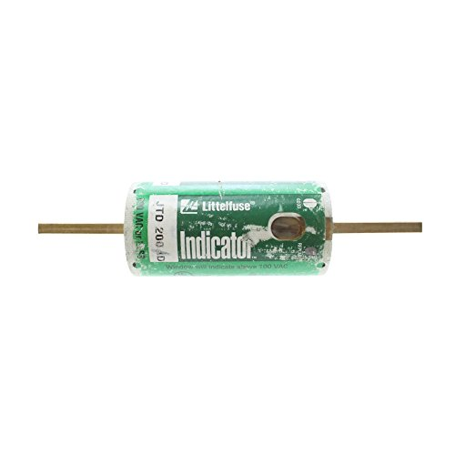Littelfuse JTD-200-ID Indicator-Type Class-J Time Delay Fuse, 200-Amp, 600-Volt by Littelfuse