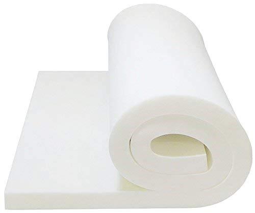 Isellfoam Foam Cushion 5 T x 24 W x 80 L Upholstery Foam Slab 1536 Foam Padding MEDIUM FIRM Sofa Seat Replacement Foam Cushion