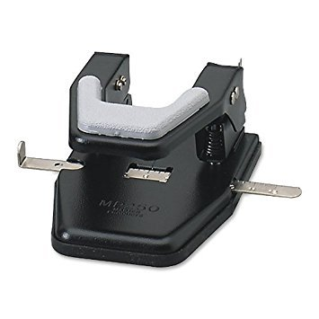 Master 2 Hole Black 9/32 Inch Paper Punch (MP250) by Master Products (Mp250 Master)