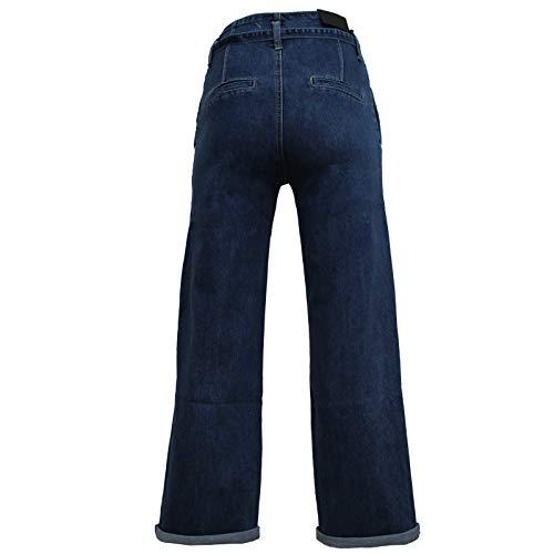 Jeans Palazzo Jeans Con Con Cinturino Donna Palazzo Cinturino Donna wzqFA4t
