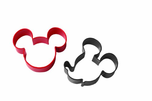 Wilton Mickey Mouse Cookie Cutter Set - Disney Mickey Party
