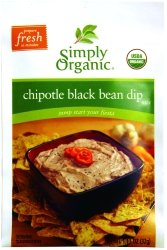 Chipotle Black Bean Dip 1.13 Ounces (Case of 12)