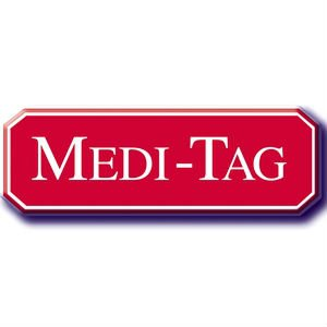 HEART CONDITION-Medical Alert Bracelet Medi-Tag Black/Brown Rubber Stainless Steel Medical ID Band by Medi-Tag by Medi-Tag (Image #1)