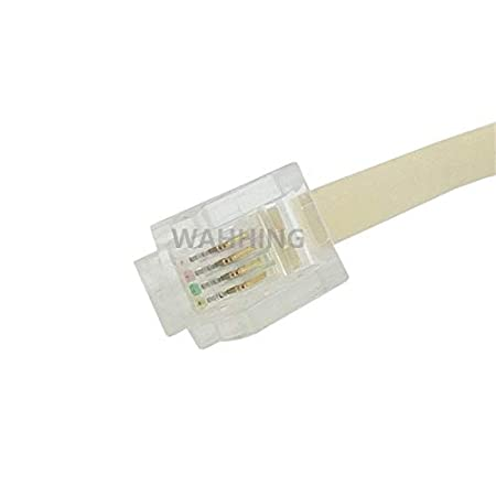 Computer Cables New 6P4C RJ11 Jack to 5 Female Cable Adapter RJ11 Telephone Phone Cable Line Splitter Extension Cable Connector HY1339 Cable Length: RJ11