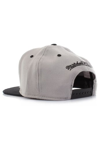Mitchell & Ness - Casquette Snapback Homme Brooklyn Nets Double Up - Grey
