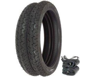 Pirelli City Demon Tire Set - Honda CA102 C70 Passport - Tires Tubes and Rim Strips