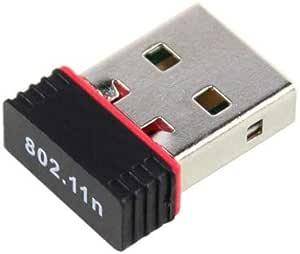 محول يو اس بي صغير لاسلكي لشبكة واي فاي 150 ميجا ولبطاقة شبكة لان لاجهزة الكومبيوتر والشبكات