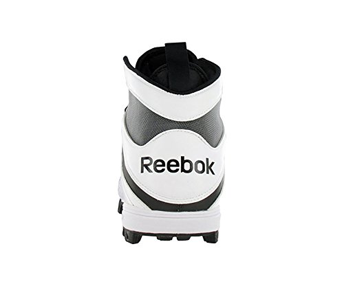 Reebok Pro Workhorse ATF Mens Football Shoes Size US 13, Regular Width, Color Black/White/Silver