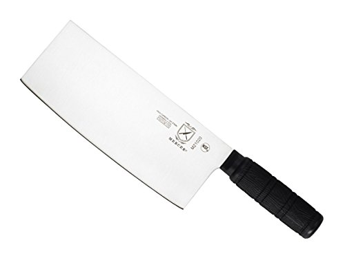 Mercer Culinary Asian Collection Chinese Chef's Knife with Santoprene Handle