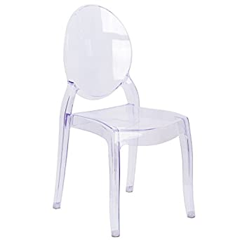 Charmant MFO Large Size Ghost Chair In Transparent Crystal
