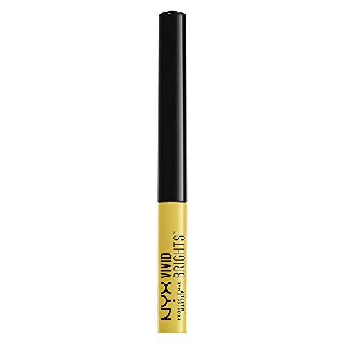 NYX PROFESSIONAL MAKEUP Vivid Brights Liner, Halo, 0.068 Fluid Ounce