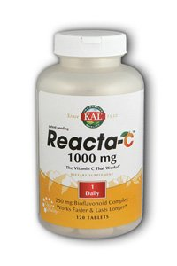 KAL Reacta-c with Bioflavonoids Tablets, 120 Count ()