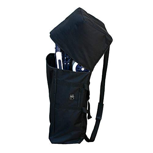Padded Shoulder Straps Drawstring Opening Car Seat Stroller Backpack
