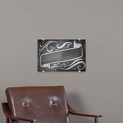 Blank Chalk Banner Premium Brushed Aluminum Sign 5-Pack 18x12 CGSignLab