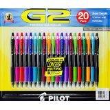 G2 Premium Gel Roller Pen 20 count