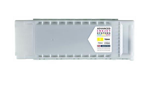 700 ml cartuchos de tinta compatibles para Epson SureColor T3000 T3200 T5000 T5200 T7000 T7200 impresoras Reino Unido fabricado.: Amazon.es: Oficina y papelería