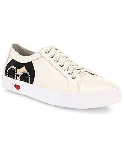alice + olivia Stace Taylor Leather Sneaker, 40.5