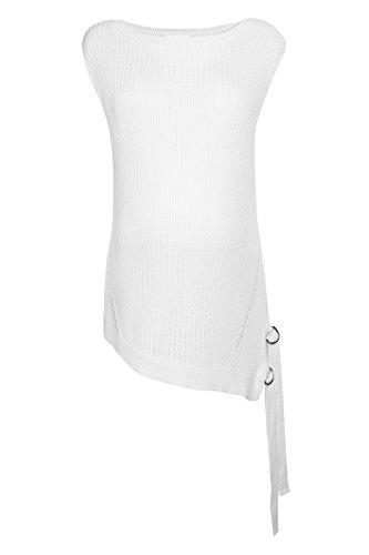 next Mujer Jersey Detalle De Puntadas Premamá Corte Regular Camisa Top Crudo
