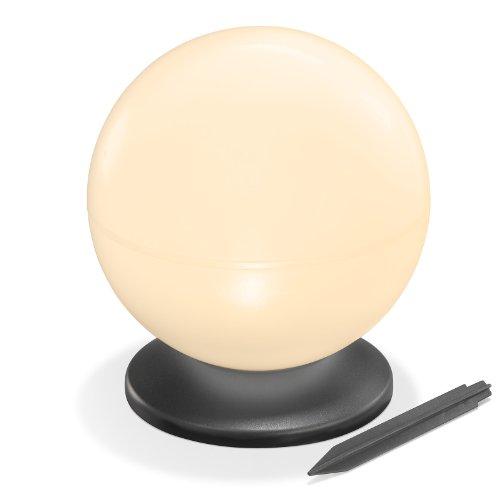 Esotec Solar Leuchtkugel, 20 cm, warmweiß 102043