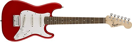 Squier Mini Player (Squier by Fender Mini Strat  - Rosewood Fingerboard  - Torino Red)