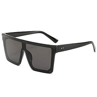 TYJVSXG Gafas de sol de mujer Flat Top Retro Diseñador ...