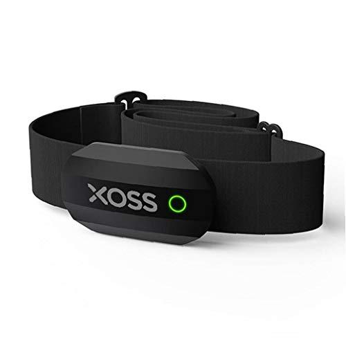 Hartslagmeter met Bluetooth en borstband, waterdicht, voor mannen en vrouwen